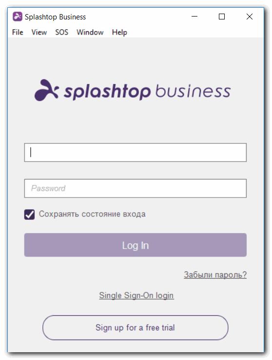 программы для удаленного администрирования Splashtop